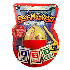 New Big Time Toys The Amazing Live Sea-Monkeys Egg Instant Life Kit