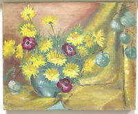 MAE MARSHALL (ca. 1950) STILL LIFE OIL ON CANVAS