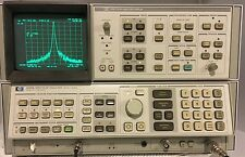HP / Agilent / Keysight 8568B Spectrum Analyzer with Cables