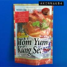 Thai Food Spicy Sour Soup Tom Yum Kung Easy Cooking Ingredient Set Thailand