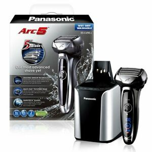 Panasonic Arc5 Automatic Cleaning/Charging Wet/Dry Electric Shaver ES-LV95-S