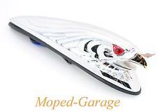 Harley Chrom Drag Eagle Fender Schutzblech Ornament Figur beleuchtet Custom Neu