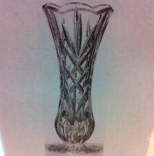"❤️St George 24% Fine Lead Crystal Toscany Classic 8"" Bud Vase NIB"