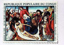 Congo tableau  Le Christ descente de la Croix   1971   NEUF ** PA 114 88M594