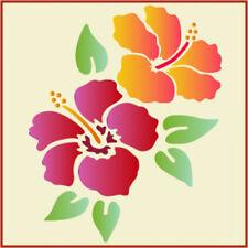 HIBISCUS- FLOWER STENCIL - The Artful Stencil