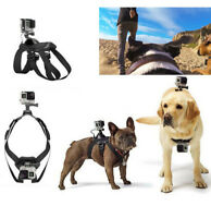 New Adjustable Dog Fetch Harness Chest Strap Belt Mount For GoPro 8 7 6 5 4 3+ 3