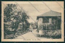 Biella Callabiana cartolina QQ6565