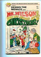 DENNIS THE MENACE CHRISTMAS 1970 HIGHER GRADE CLASSIC COVER