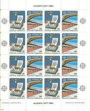 Grecia  EUROPA cept 1988 ** MNH - Hoja bloque / Souvenir Sheet