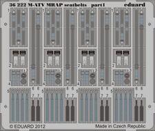 Eduard Accessories 36222 - 1:35 M-ATV mrap seatbelts for kinetic-ätzsatz-nuevo
