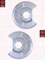 Ankerblech Spitzblech Hitzeschutzblech Satz hinten Volvo S40 II Bj. 04-