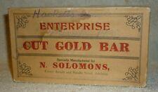 ENTERPRISE - CUT GOLD BAR - TOBACCO BOX - ADELAIDE