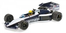 Brabham BMW BT52B Ayrton Senna Paul Ricard 1983 1:18 Model MINICHAMPS