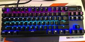 SteelSeries Apex Pro TKL Wired Gaming Mechanical OmniPoint Adjustable Keyboard
