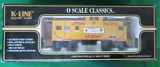 "K-Line K613-2112 Union Pacific ""O"" scale Western Depot Exclusive Classic Caboose"