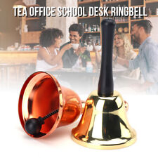 Stainless steel Handle Bell School Reception Dinner Shop Hotel Pet Training Bell