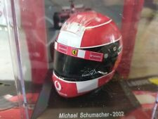MICHAEL SCHUMACHER 2002 HELMET TUTTI I CASCHI DEI PILOTI FERRARI #01 1:5 MIB