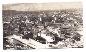 1920 RPPC THEODOSIA RUSSIA UKRAINE original photo postcard city landscape WW1