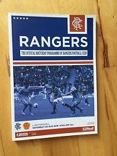 Teams L-N Motherwell Football Scottish Fixture Programmes