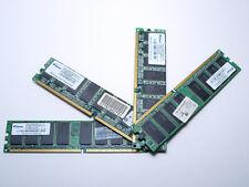 Lote 4 Modulos Memoria RAM Elixir 512 MB DDR 400 Mhz PC3200U