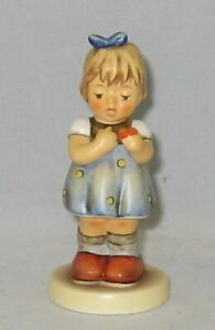 "Hummel Figurine ""LOVE PETALS"" Hum 804 Trademark 8 / NO Box"