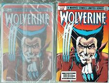 fumetto MARVEL LEGENDS n.10 WOLVERINE con targa metallica - Marvel Panini