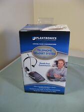 NEW Plantronics TELEPHONE HEADSET SYSTEM ( S11 )