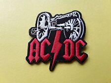 POP, ROCK, PUNK, METAL MUSIC SEW ON & IRON ON PATCH:- AC/DC