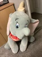 Disney Dumbo Plush Soft Toy Collectable Teddy large 35 inch Rare Huge Elephant