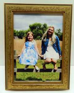 8x10 Gold & Green Solid Wood Photo Picture Frame 8 x 10 New
