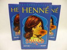 Henné Rouge Clair Teinture pour Cheveux Naturel Soin de - 3 x 90 G - Poule
