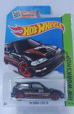 New 1:64 Die Cast 1990 Honda Civic EF Hatchback  - Rare HTF 2013 Hot Wheels NIP