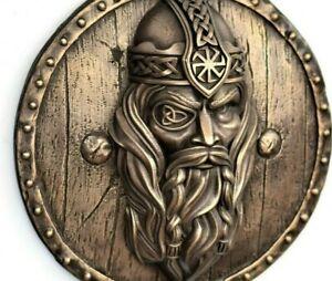 Viking decor Odin statue norse god wall sculpture asatru art pagan decor gift