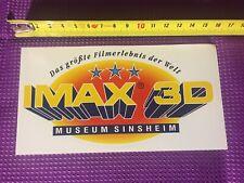 Pegatinas IMAX 3d museo Sinsheim