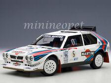 AUTOart 88621 LANCIA DELTA S4 #5 MARTINI RALLY WINNER ARGENTINA 1986 1/18 WHITE