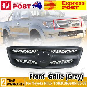 For Toyota Hilux TGN/KUN/GGN 05-08 SR/SR5/Workmate/ DLX Front Matte Black Grille
