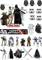 Star Wars BB8 Eßbar Tortenaufleger NEU Party Deko Muffinaufleger dvd Geburtstag