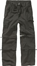 Pantaloni da uomo neri nessuna fantasia taglia XL