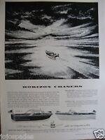 "1960 Century Raven & Nordic Horizon Chasers Original Print Ad 8.5 x 11"""