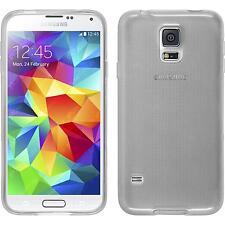 Coque en Silicone Samsung Galaxy S5 Neo transparent blanc