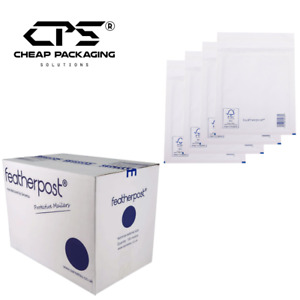 CPS Genuine Featherpost White Bubble Padded Shipping Bags - All Size - 25 Pcs