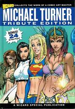 """MICHAEL TURNER TRIBUTE EDITION 1:299 LIMITED WIZARD HARDCOVER! """"VERSION 3 ART"""""""