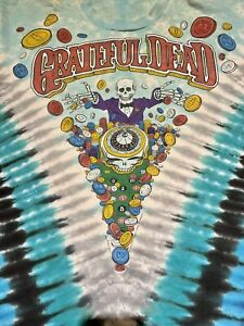 Vintage Grateful Dead T Shirts - Official GDM 1990s XL & Jerry Garcia Band