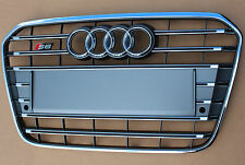 Audi S6 4G original Kühlergrill Grill Frontgrill A6 C7 Stoßstange bumper Alu PDC