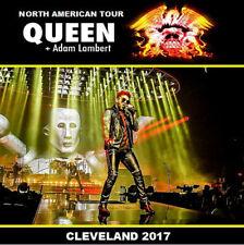 QUEEN & ADAM LAMBERT LIVE CLEVELAND USA 2017 2 CD