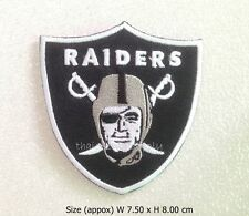 Patch Oakland Raiders Embroidered Sew Iron on Patch NFL Football Logo DIY