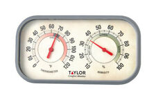 Taylor  Comfort Monitor  Indoor  Thermometer and Humidity Reader  6 in.