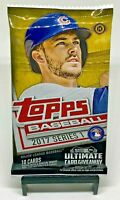 2017 Topps Series 1 MLB Baseball Factory Sealed Hobby Pack - 10 Cards