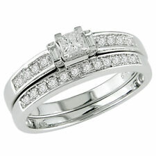 Diamond Band Fine Rings
