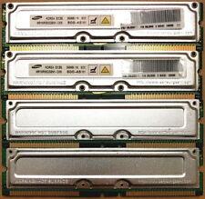(6 x 256MB) Samsung Ram Memory RDRAM RIMM 800-45 PC800 ECC FREE SHIPPING